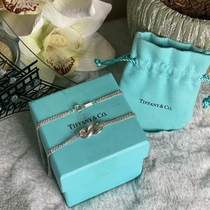 Vintage Tiffany & Co. Infinity Necklace